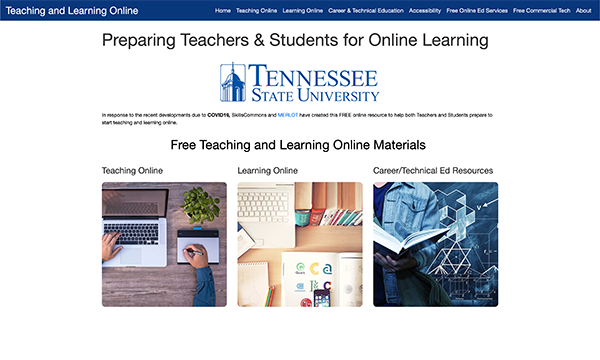 Teaching & Learning Online Portal: Tennessee State University