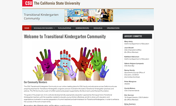 Calif State Univ - Transitional Kindergarten