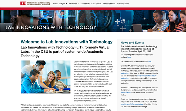 Calif State Univ - Lab Innovations with Technology