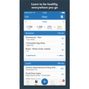 Calorie Counter & Diet Tracker by MyFitnessPal App for iOS
