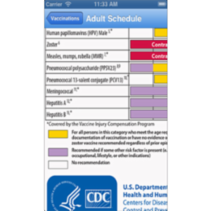 CDC Antibiotic Guidelines App for iOS icon