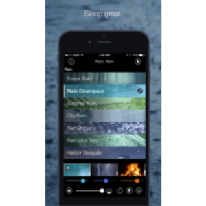 Rain, Rain Sleep Sounds App for iOS icon