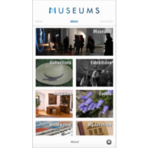 Museums of the World App for iOS icon