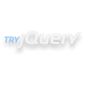 jQuery Tutorial - Try jQuery icon