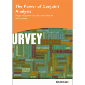 The Power of Conjoint Analysis - Insight into preference, choice and trade-off icon
