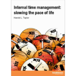 Internal time management: slowing the pace of life icon