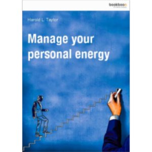 Manage your personal energy icon