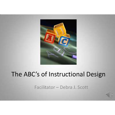 The ABCs of Instructional Design icon
