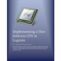 Implementing a One Address CPU in Logisim icon