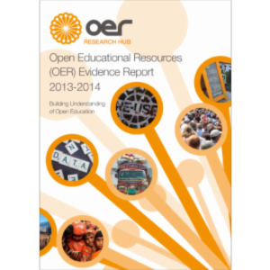 Open Educational Resources (OER) Evidence Report icon