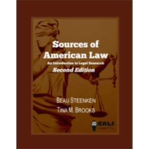 Sources of American Law: An Introduction to Legal Research icon