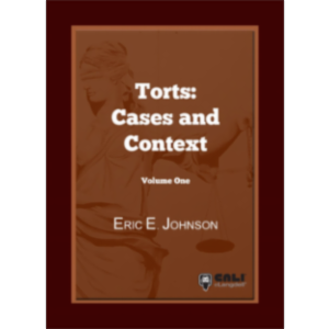 Torts: Cases and Contexts Volume 1 icon