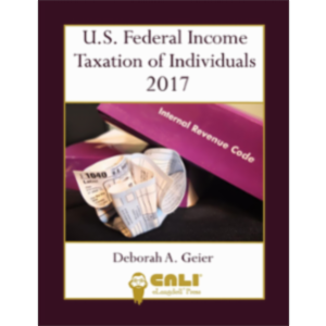 U.S. Federal Income Taxation of Individuals 2017