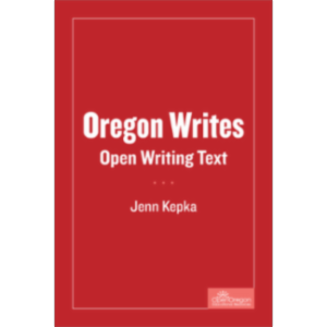 Oregon Writes Open Writing Text icon