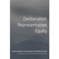 Deliberation, Representation, Equity: Research Approaches, Tools and Algorithms for Participatory Processes icon