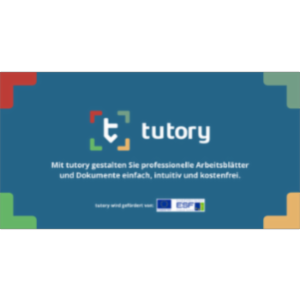Using tutory.de - OER editor/authoring tool with Open Educational Resources (OER) [in German] icon
