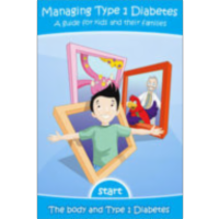 Managing Type 1 Diabetes: A guide for kids and their families on the App Store icon