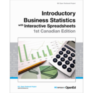 Introductory Business Statistics with Interactive Spreadsheets – 1st Canadian Edition icon