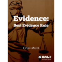 Evidence: Best Evidence Rule icon