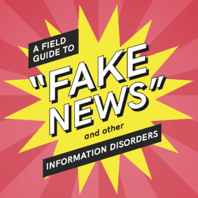 "A field guide to ""fake news"" and other information disorders icon"