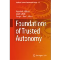 Foundations of Trusted Autonomy | SpringerLink icon