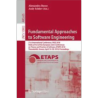 Fundamental Approaches to Software Engineering | SpringerLink icon