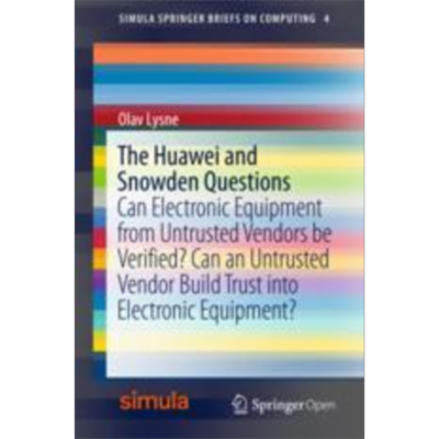 The Huawei and Snowden Questions | SpringerLink icon