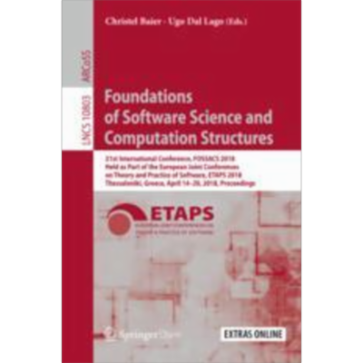 Foundations of Software Science and Computation Structures | SpringerLink icon