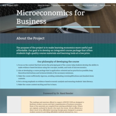 Microeconomics for Business icon