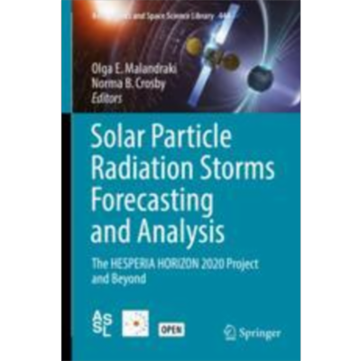 Solar Particle Radiation Storms Forecasting and Analysis | SpringerLink icon