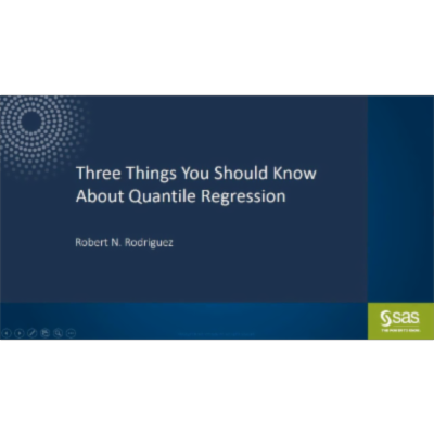 Three Things You Should Know about Quantile Regression icon