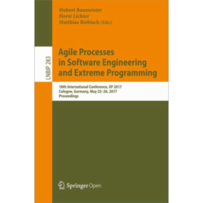 Agile Processes in Software Engineering and Extreme Programming | SpringerLink icon