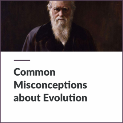 Digital Lesson - Common Misconceptions about Evolution | Blending Education icon