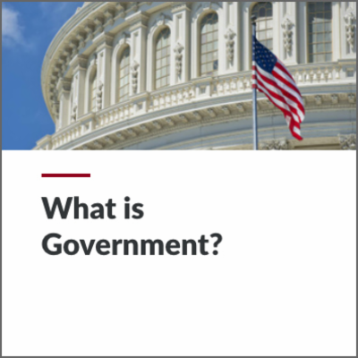 Digital Lesson - What is Government? | Blending Education icon