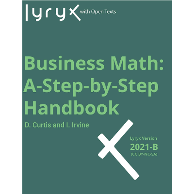 Business Math: A Step-by-Step Handbook icon