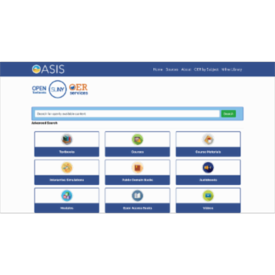 OASIS:  OER/Open Content Search Finder icon