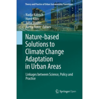 Nature-Based Solutions to Climate Change Adaptation in Urban Areas | SpringerLink icon