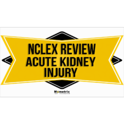 AKI (Acute Kidney Injury) [NCLEX RN Review - 2018-2019] icon