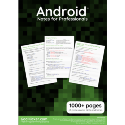 Free Android Development Book icon