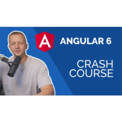 Learn Angular 6 in 60 Minutes - Free Beginners Crash Course icon