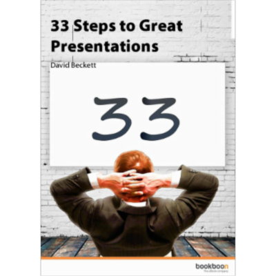 33 Steps to Great Presentations icon