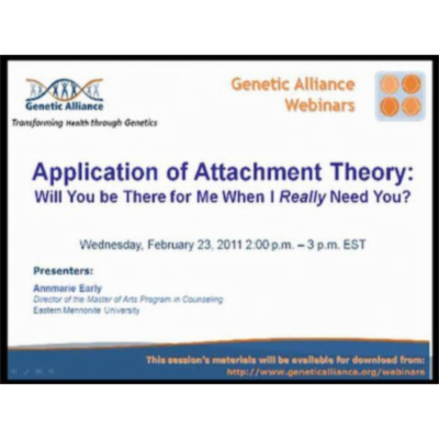 Contextualizing Attachment Theory and Practice