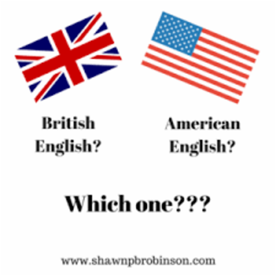 American English vs British English icon