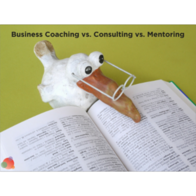 How Business Coaching Differs from Consulting and Mentoring icon