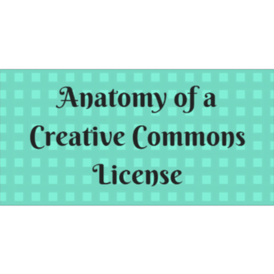 The Anatomy of a Creative Commons License icon