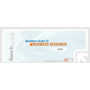 Beginner's Guide to Business Research