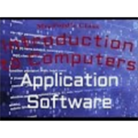 Computer Software (03:05): Application Software icon