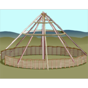 Reconstructing an Iron Age Roundhouse