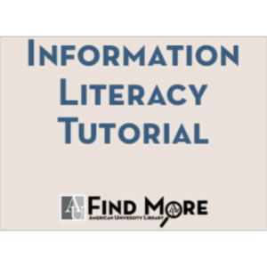 American University Library's Information Literacy Tutorial