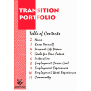Middle & HS transition portfolios icon
